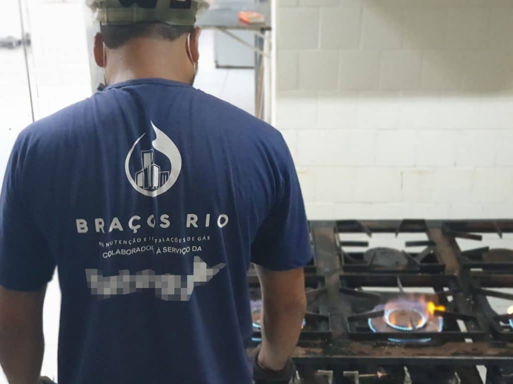 Técnico da Braços Rio realiza teste final no restaurante
