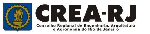 Braços Rio - Selo CREA - RJ