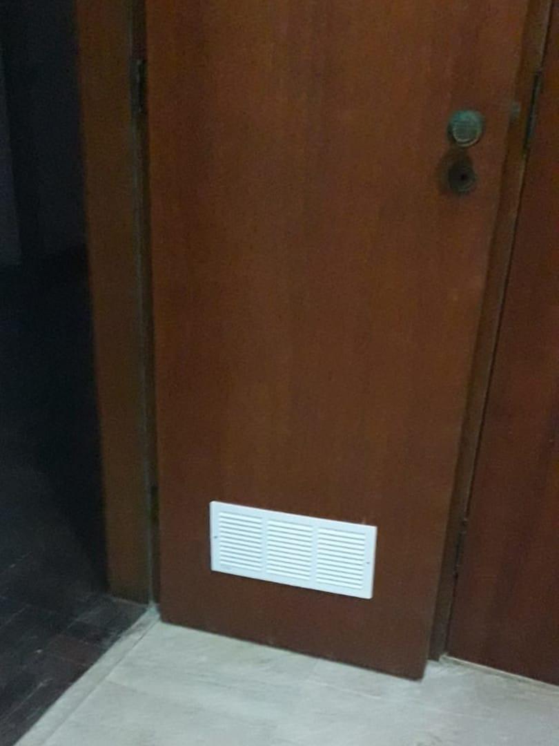 Braços Rio - Corte Porta para Ventilação Permanente